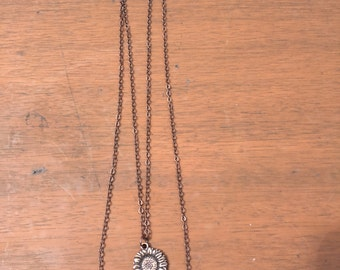 Never Give Up Layered Necklace