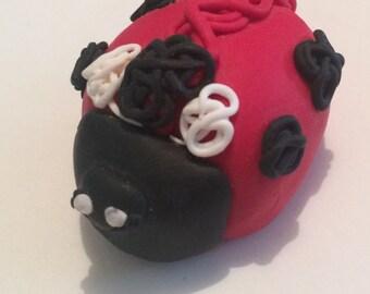 Clay ladybird
