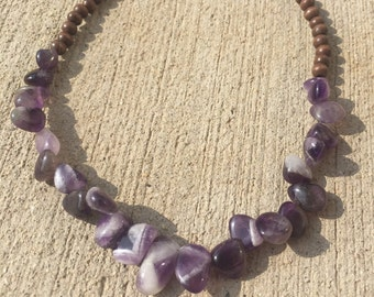 Purple Stone Choker