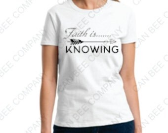 Faith Is....Knowing