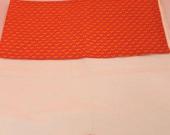 Ornament flat sheet and pillowcase theme bird