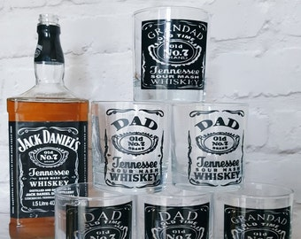 Personalised Whiskey Glasses
