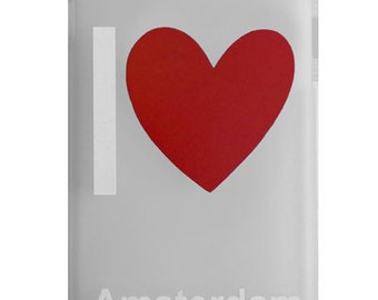 iPhone 6 I Love Amsterdam case