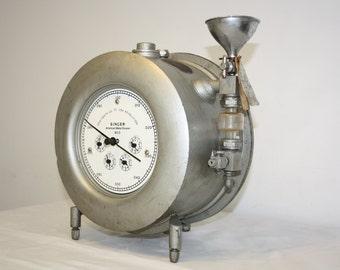 American meter company law test meter. Industrial Mancave Vintage Stainless steel