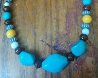 Natural Tones Bead Bracelet
