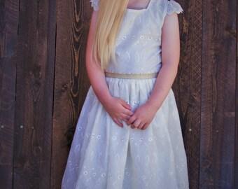 Beautiful Lacey Dress size 5-6