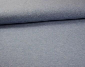 Cotton Jersey rib light blue