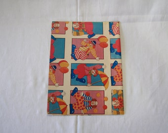 Vintage | Clown | Wrapping Paper | Sheet