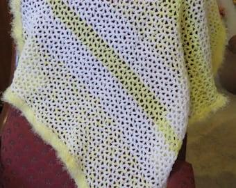 Yellow & White Stripe Blanket