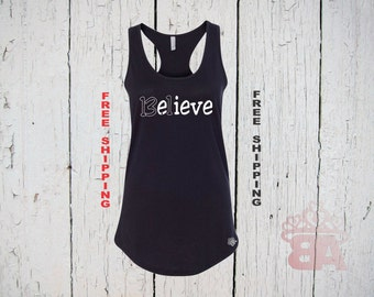 Believe Tank Top. 13.1 miles running. Half Marathon Tank Top. Running Half Marathon. Womens Racer Back Tank Top. FREE Shipping.