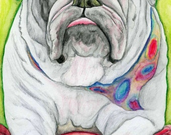 "C. SMALE, ""English Bulldog"""