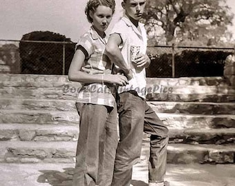 Cool Couple from the 1950's - Digital Download