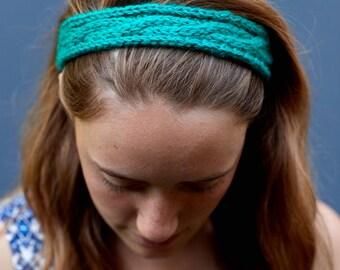 Cable-Knit Headband