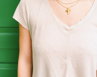 The Hannah-- Layered Necklace
