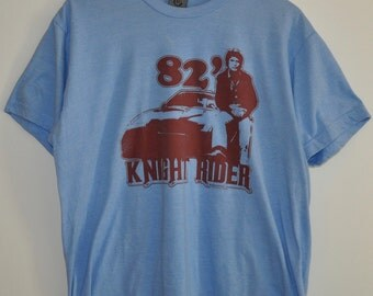 Knight Rider David Hasselhoff The Hoff T-Shirt Tee Sz L