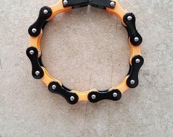 "8"" bike chain bracelet"