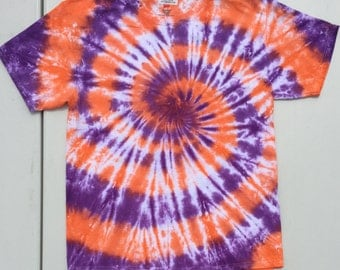 Clemson Swirl-Any Size Made to Order