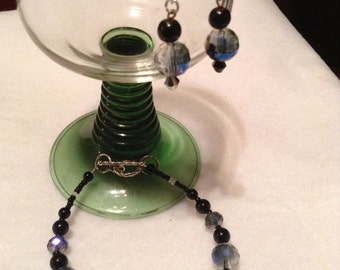 NS2 Necklace, bracelet, and earrings