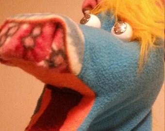 Sassy Unicorn hand puppet