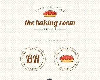 Premade Bakery logo, Bakery branding kit, Cooking Logo, Food blog logo, Baking Branding Kit, Branding Package, Baking logo set, Cake logo 35