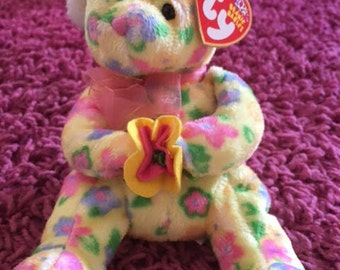 Bloom Limited Edition 10th Anniversary Beanie Baby