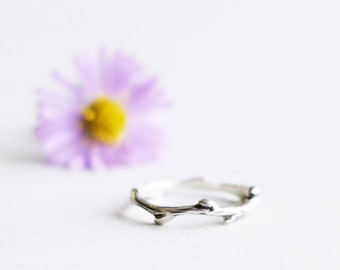 Branch ring - Silver ring
