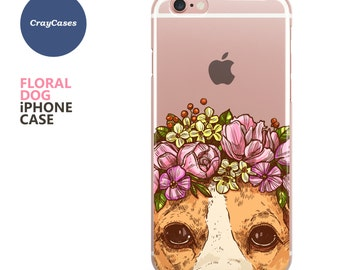 Dog iPhone Case for iPhone 7, iPhone 7 Plus & iPhone 6/s and 6/s Plus (Shipped From UK)