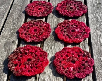 Handmade Flower Coasters