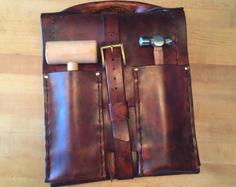 Leather Crafting Tool Bag