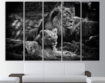 Lion Wall Art Wild Cat lion art lion canvas lion print lion poster lion photo lion wall decor lion canvas art Wall art canvas print