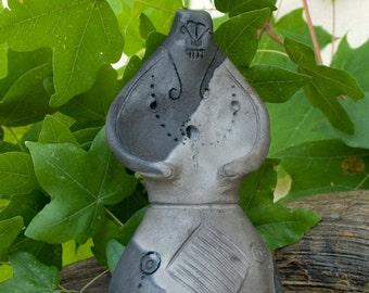 House / medieval / ceramic / replica / pit fire / handmade / piece