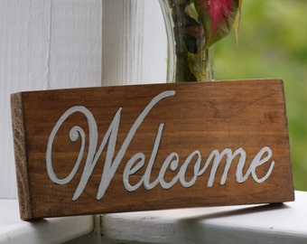 Welcome -  welcome sign