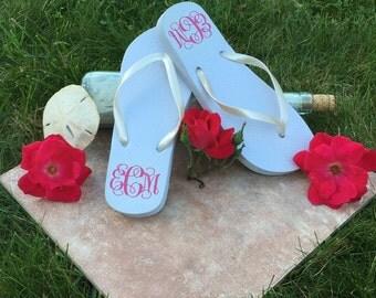 Wedding Flip Flops For Guests | Wedding Flip Flops | Flip Flops For Wedding Guests | Bridal Flip Flops | Bride Flip Flop
