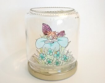 """Fairy in a jar """"Good Luck"""""""