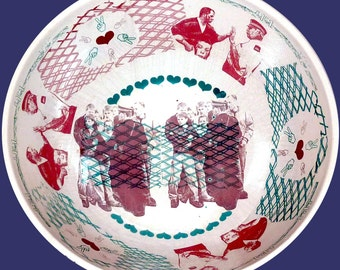 Glasgow Punch up Bowl