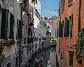 Gondolier in Venice - Venice, Italy