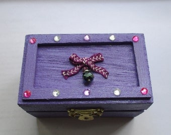 Angel Wish Box (purple)