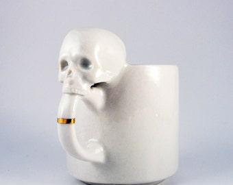 SKULL espresso cup