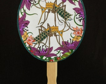 Insect Hand Fan