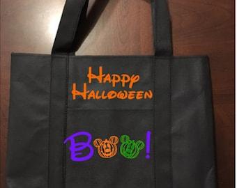 Disney Inspired Halloween Tote Bag