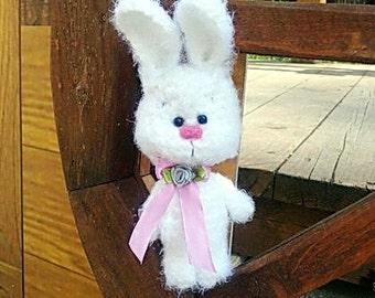 Plush bunny toy crochet bunny doll rabbit toy stuffed bunny girlfriend gift softie rabbit crochet amigurumi stuffed toys Easter decor