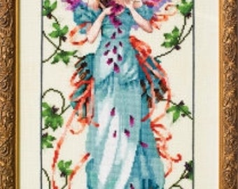 Blossom Goddess by Nora Corbett Mirabilia Pattern with Embellishments