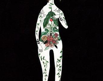 Anatomical Botanical Illustration Print