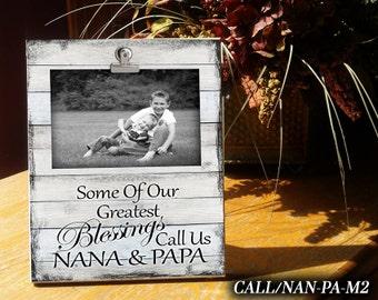 call_nan pa clip frame photo frame gift for nanapapa - Nana Frame
