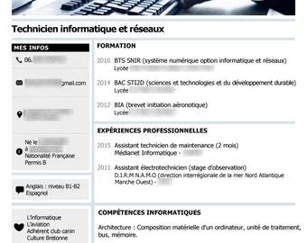 Custom bent glass resume
