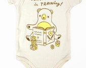 Librarian Baby Gift - Book Worm Baby Bodysuit - Organic Cotton Baby Gift Book Baby One Piece