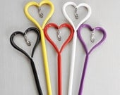 Heart Design Helping Hand Bracelet Fastener - put bracelets on by yourself with ease - choice of color