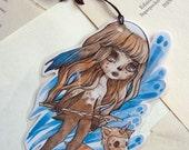 Bookmark - Laminated - Charm - Fairy - Fantasy - The Girl with No Name - OC