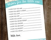 Travel Baby Shower Game - Baby Around the World Shower Game - Adventures Await Shower Game - Wishes for Baby Instant Download