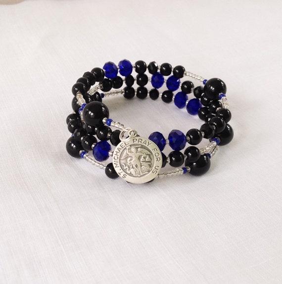 St Michael Rosary Bracelet